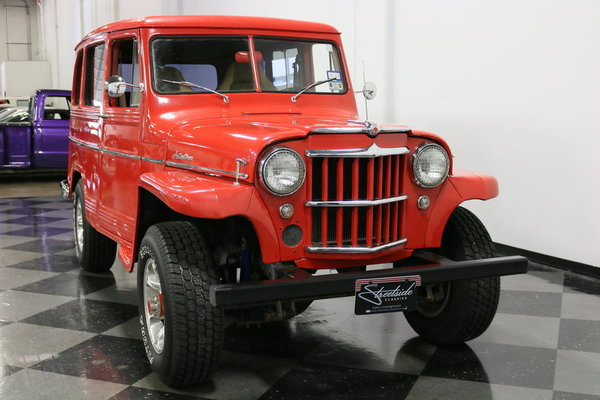 1960 Willys Utility Wagon  for Sale $22,995