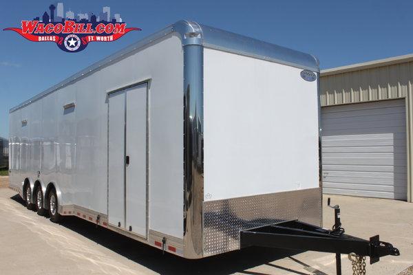 34' Auto Master X-Height SPD-LED Race Trailer Wacobill.com