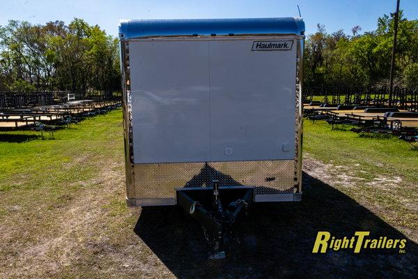 2021 8.5x34 Haulmark Race Trailer Edge