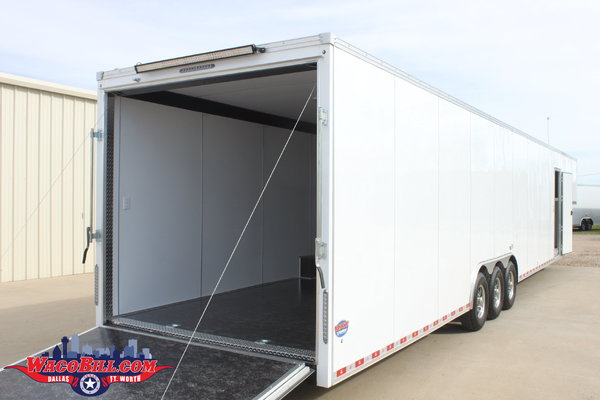 48' United X-Height 2-Car Hauler LOADED! Wacobill.com