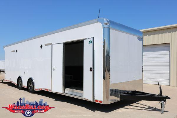 "32ft Auto Master 12"" X-Height Race Trailer Wacobill.com"