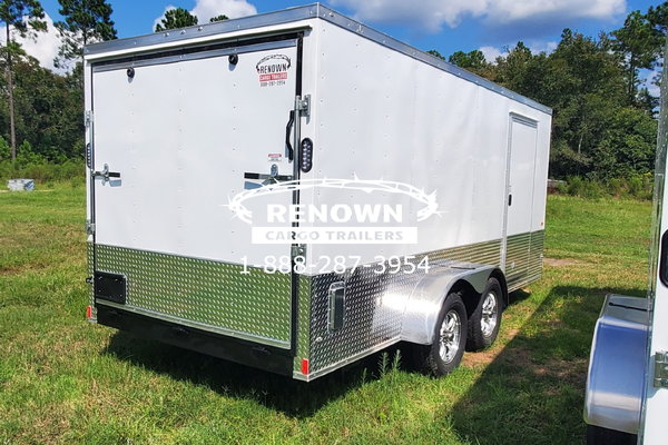 7X16 TA Enclosed Motorcycle Trailer  for Sale $5,235