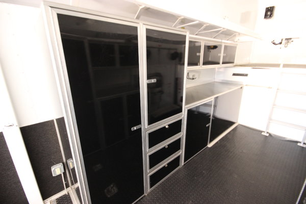 2008 Pace American 40' Enclosed Stacker Trailer