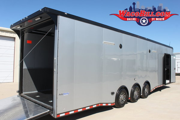 34' Auto Master X-Height Loaded Race Trailer