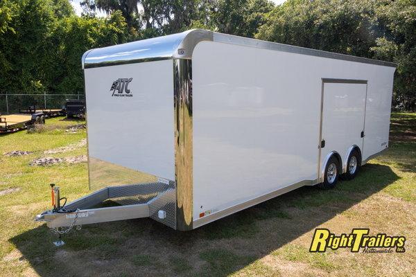 2021 8.5x24 ATC Race Trailer W/ PED