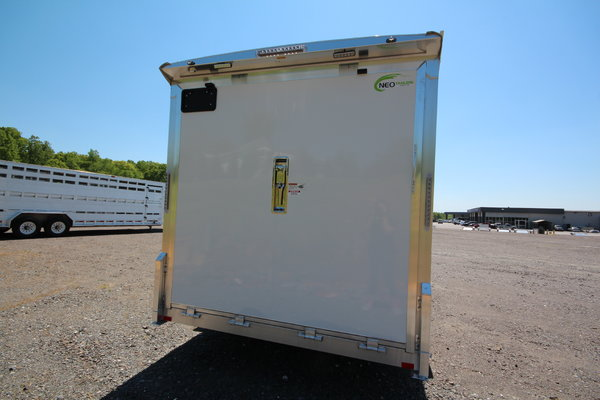 2021 NEO Trailers NHD 7.5x14 Aluminum Motorcycle Trailer