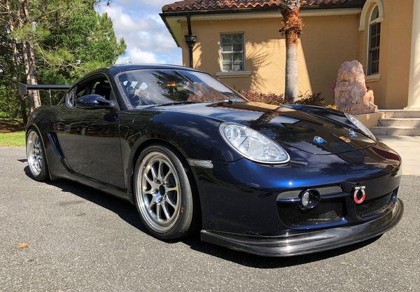 Porsche Cayman S Race Car  for Sale $49,999