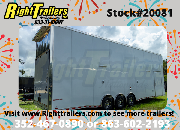 2021 34' Cargo Mate Eliminator Stacker