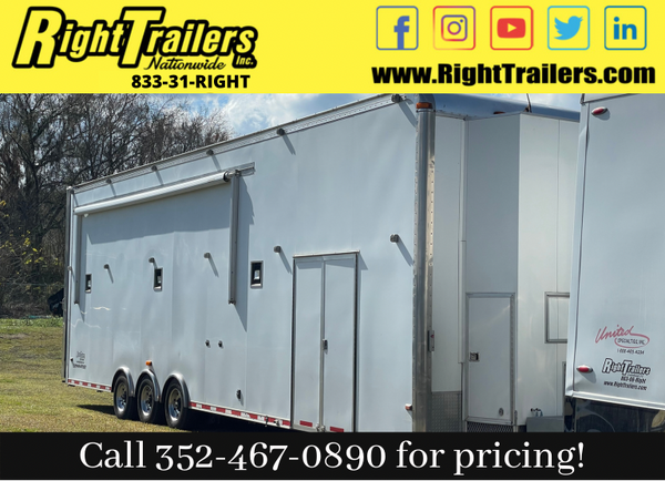 AVAILABLE NOW! 2007 Stacker Race Trailer  for Sale $89,999