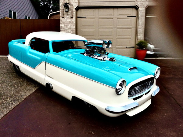 One Of A Kind '55 Nash Metro Pro Street Lowered Price 75k  for Sale $75,000