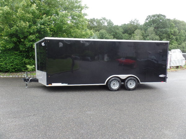 8.5X20 9,990 GVW LOOK enclosed car trailer  for Sale $7,195