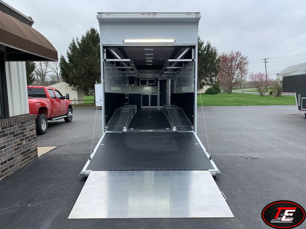32' United Super Hauler Dirt Late Model Race Trailer  for Sale $37,995