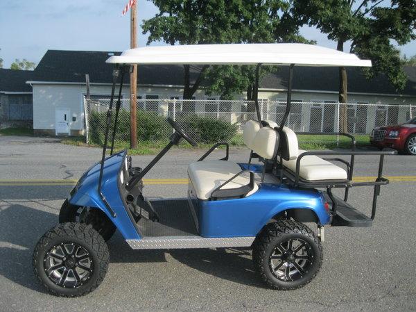 2012 Ezgo Golf Cart Lifted Big Tires Wheels Electric
