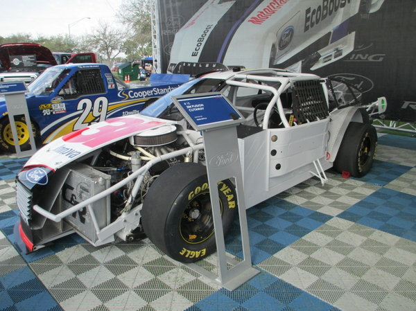 NASCAR Cut-Away Car