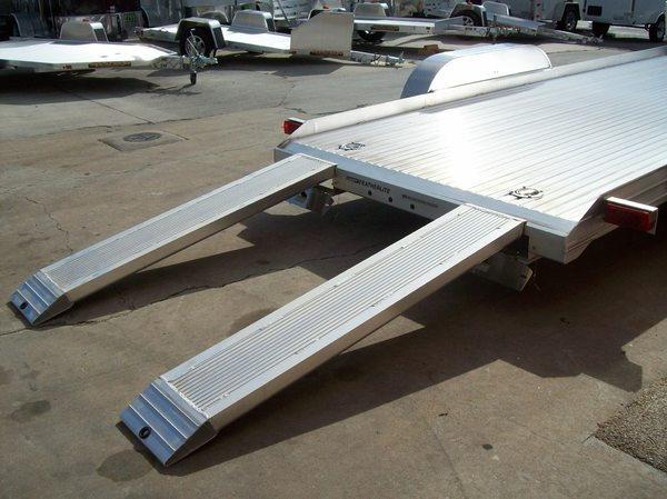 Featherlite Open Aluminum Car Hauler  17.5' Featherlite mode  for Sale $6,999
