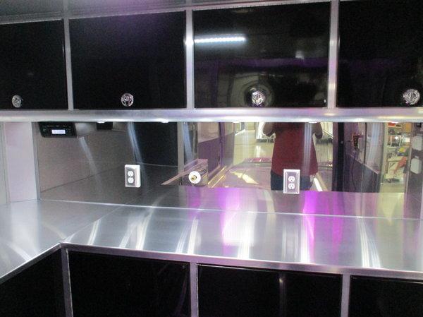 30' ATC Alum. Stacker w/premium escape door