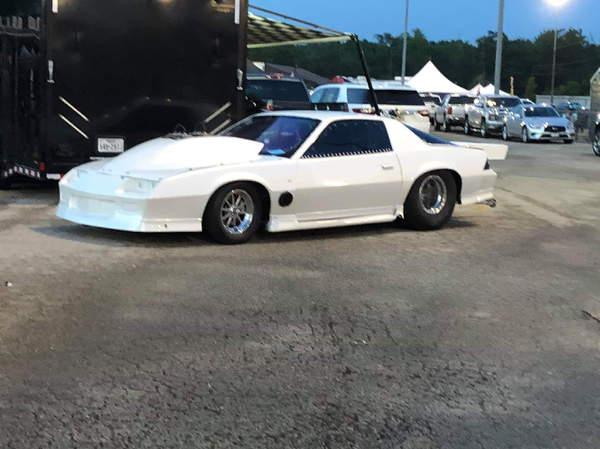 86 Camaro roller 6.0 cert
