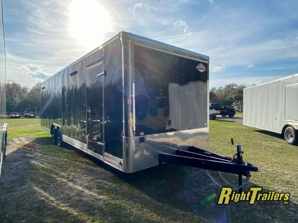 2021 8.5 x 28 Cargo Mate Trailer