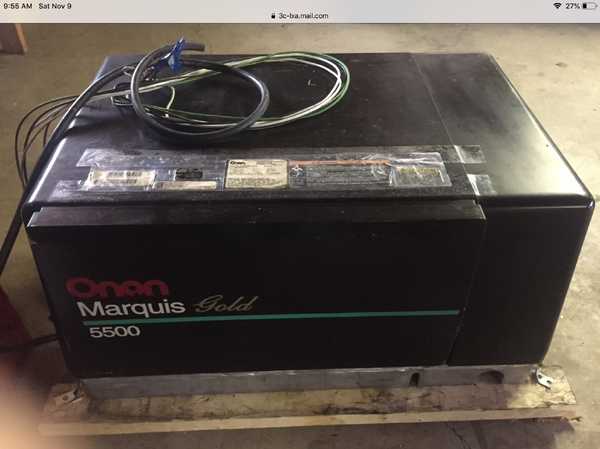 Onan 5500 gold series generator  for Sale $2,200