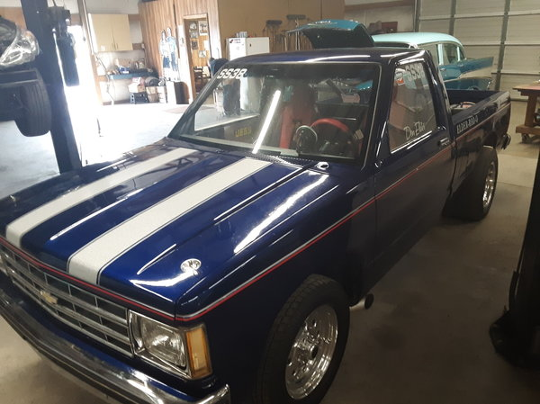 85 S10 Drag Truck  for Sale $10,500