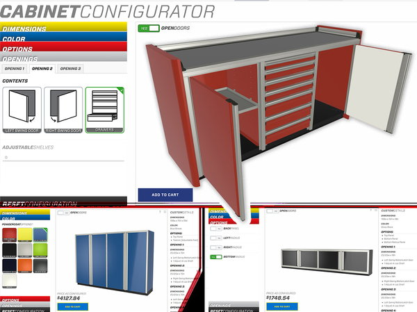 Build-Your-Own Cabinets Online