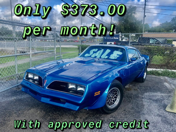 1978 Pontiac Firebird  for Sale $29,900