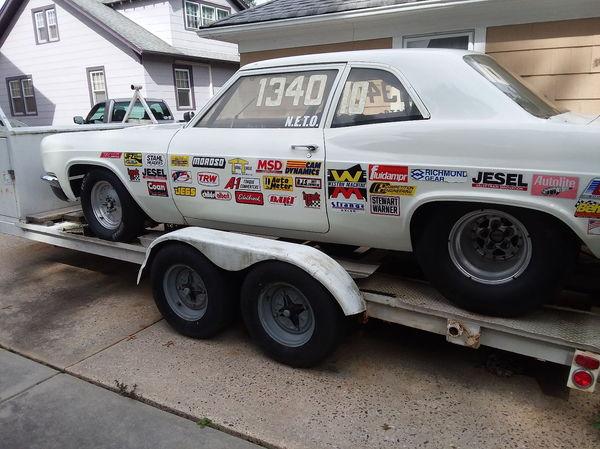 1966 Chevrolet Biscayne bracket car  for Sale $9,800