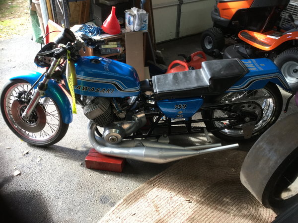 Kawasaki H2 750  for Sale $6,000