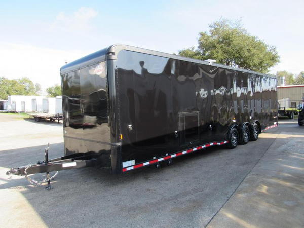 2021 Cargo Mate 34Ft Black Out Bath Package Eliminator Car /  for Sale $32,999