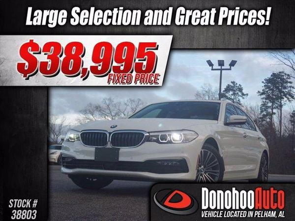 2018 BMW 5 Series  for Sale $38,995
