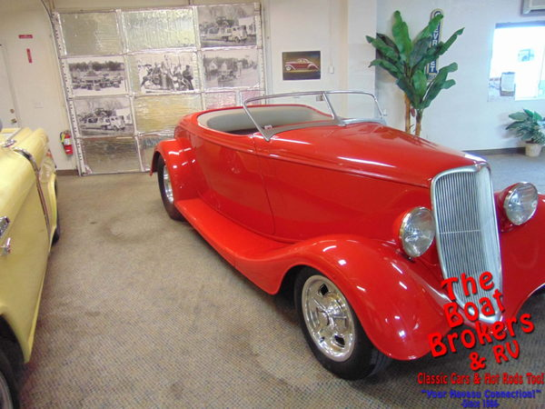 1933  ford   Roadster  for Sale $68,500