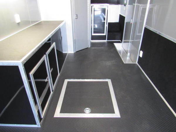 2020 44ft Goose Neck Bath Package Race Trailer by Vintage  for Sale $47,999