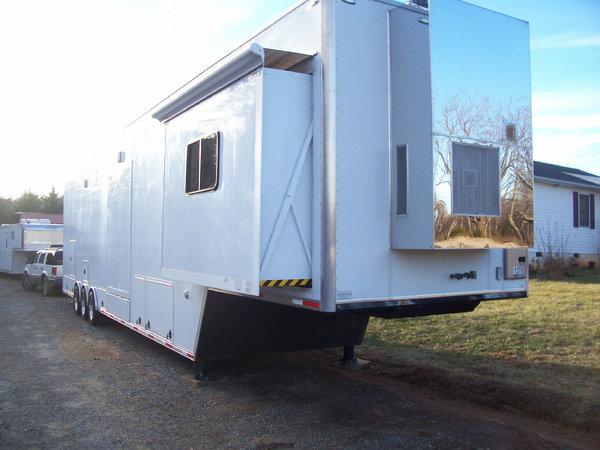 Performax 48' Semi Race Trailer Hi Cube Trailer - $36,500