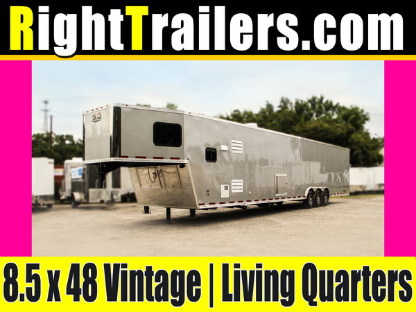 48 Vintage Trailers Living Quarters Trailer -- ARRIVING SOON