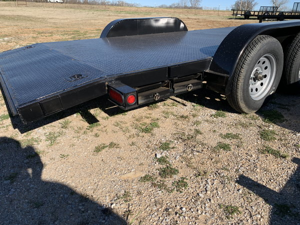 18' Car Hauler Steel floor  for Sale $2,595