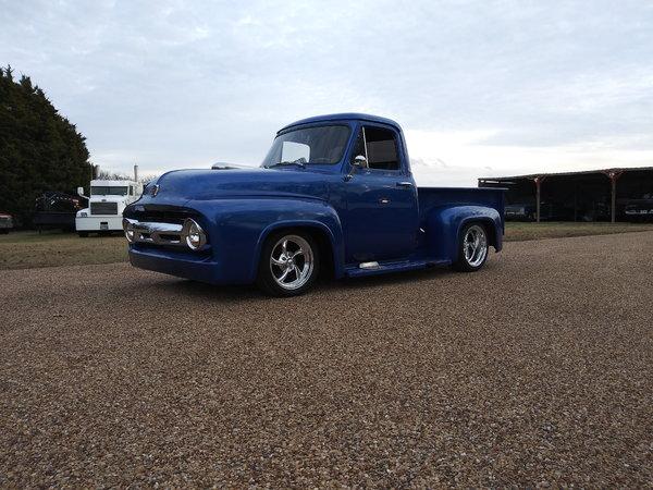 1954 ford f100 blown