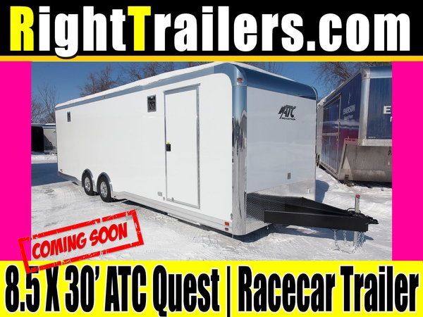 8.5x30 ATC Quest | Race Car Trailer