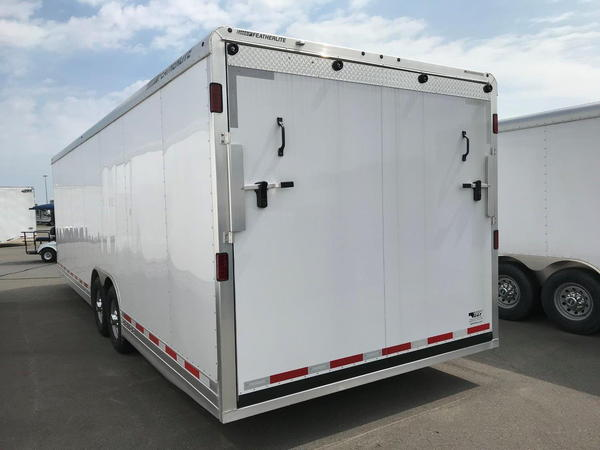 NEW 2019 FEATHERLITE 28' CAR HAULER