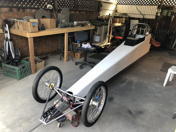 "210"" WB RE Dragster  for Sale $6,500"