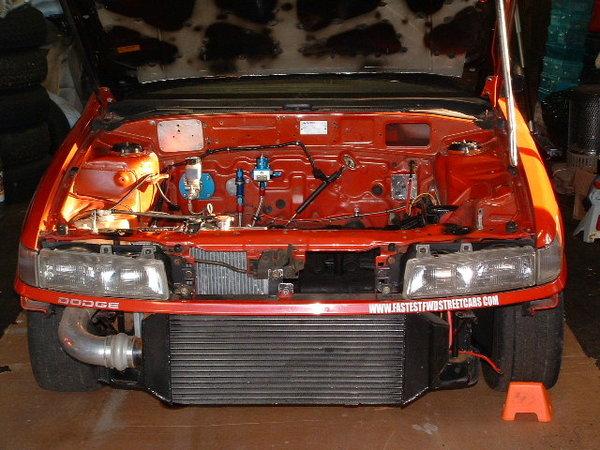 4G63 Turbo Mitsubishi Mirage Drag Car Cage Street Class