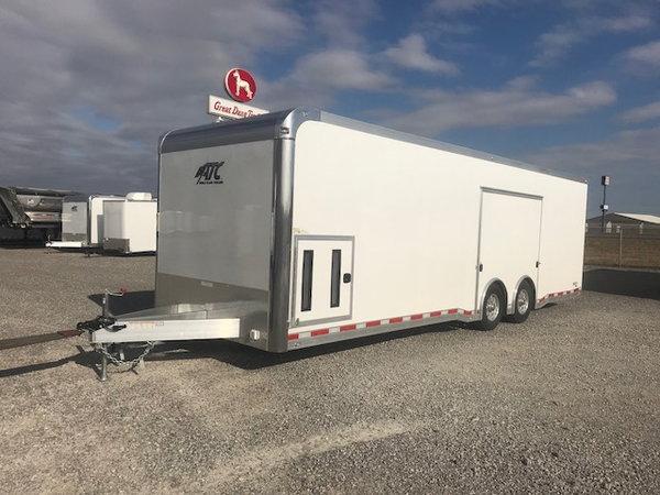2020 ATC Quest CH305 28 Aluminum Enclosed Car Hauler Trailer