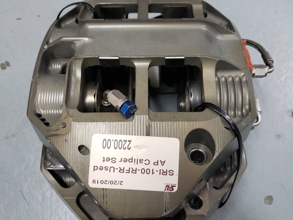 Used AP Racing 4-Piston Short Track Rear Calipers  for Sale $2,200
