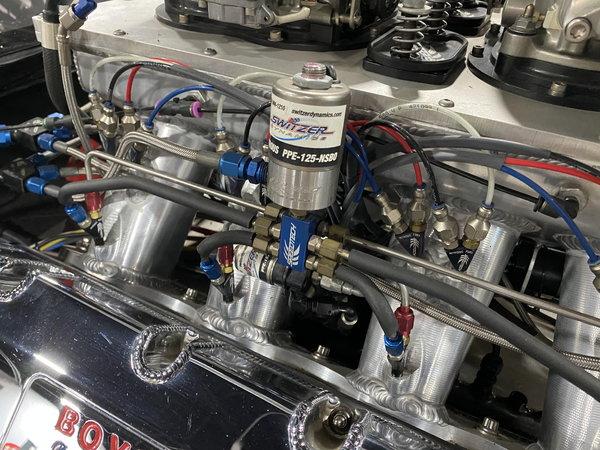 Pro Mod/Top Sportsman Jerry Bickel-built Camaro