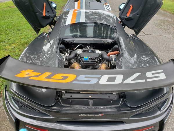 2018 McLaren 570S GT4  for Sale $199,900