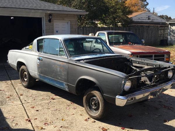 1966 Barracuda Mopar  for Sale $3,000