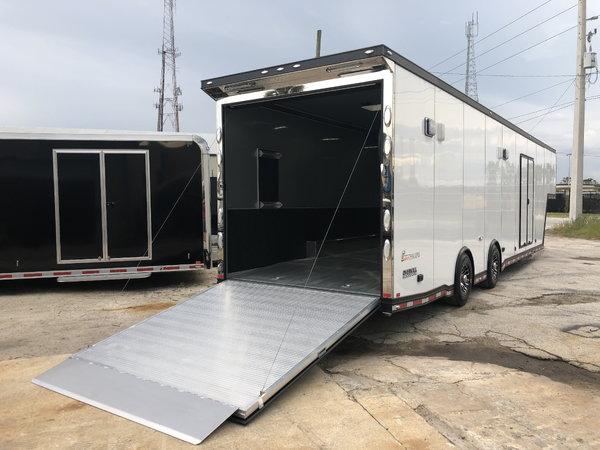2018 inTech 40' All Aluminum Gooseneck Trailer