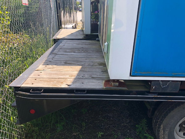 2014 20' Kaufman Flat Bed Trailer  for Sale $4,500