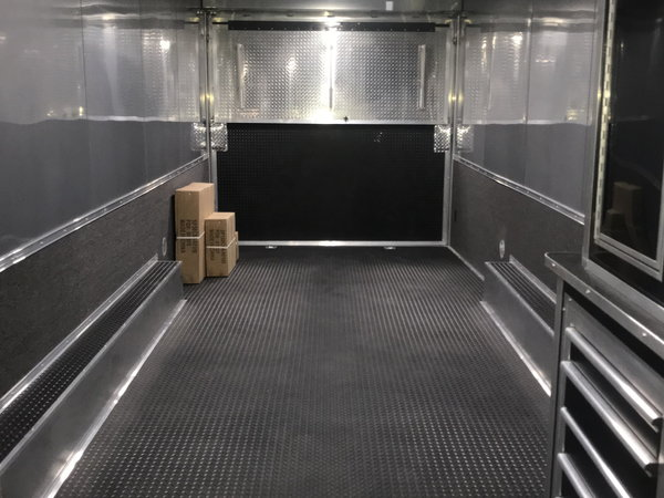 2020 34ft All Aluminum w/Bathroom Package Race Trailer
