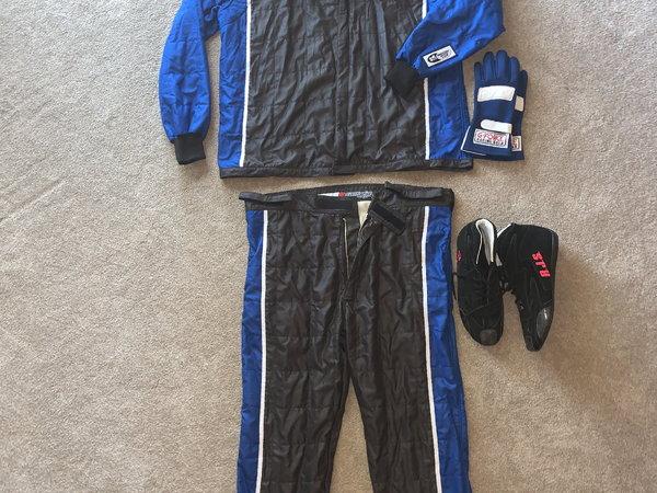 racing suit complete minus helmet  for Sale $800