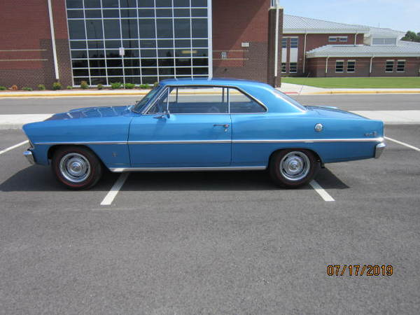 1967 Chevrolet Chevy II  for Sale $26,500